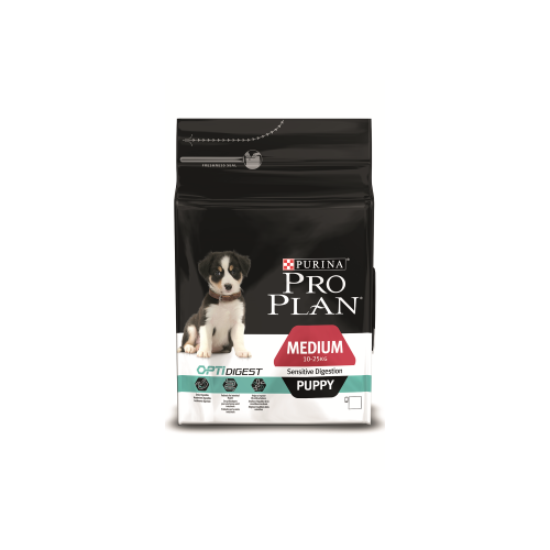 Сухой корм для собак Purina Pro Plan Medium Puppy Sensitive Digestion