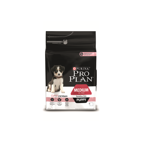 Сухой корм для собак Purina Pro Plan Medium Puppy Sensitive Skin